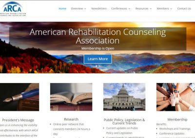 American Rehabilitation Counseling Association (ARCA) – Website