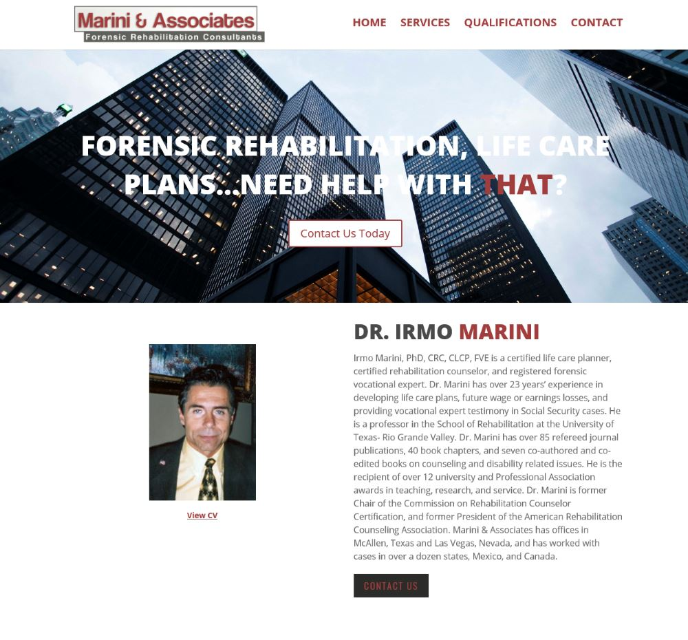 MACM – Forensic Rehabilitation Consultants